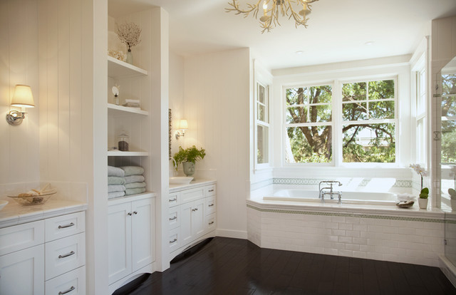 Home in Healdsburg traditional bathroom