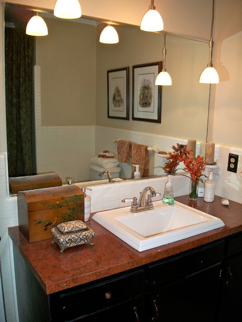 Home Makeover - Before and After traditional-bathroom