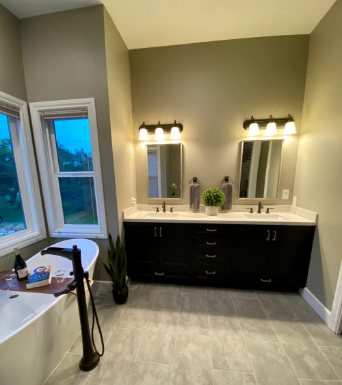 """home on the ridge catherine vanbuskirk interior design img~73b1e80c0f35dcad 8 6479 1 d302442 - """"Home On The Ridge"""" Home Rebuild And Design - projects"""