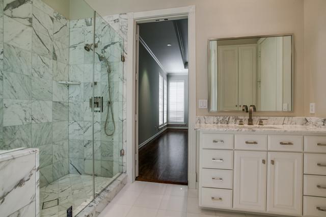 Home Remodeling transitional-bathroom