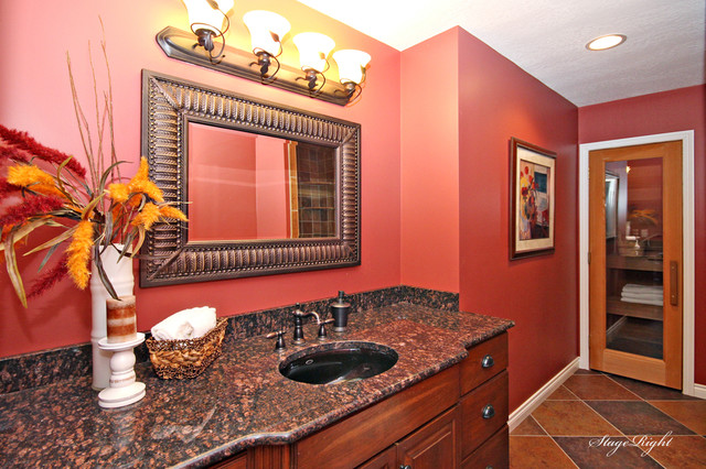 Luxury Home Staging Kalamazoo Michigan  Traditional  Bathroom  Grand