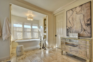 Home Sweet Home - Transitional - Bathroom - sacramento - by Anne Sacco Interiors, LLC