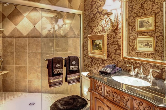Home sweet home traditional bathroom louisville by wolford building remodeling for Bathroom mirrors louisville ky