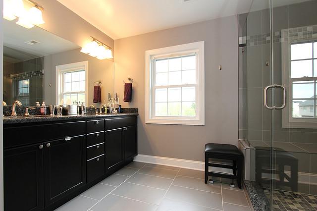 Honeystone traditional-bathroom