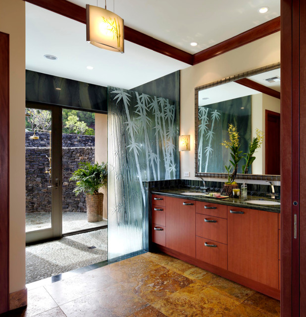 Houzz Com Bathroom: Honolua Ridge, Maui, Residence