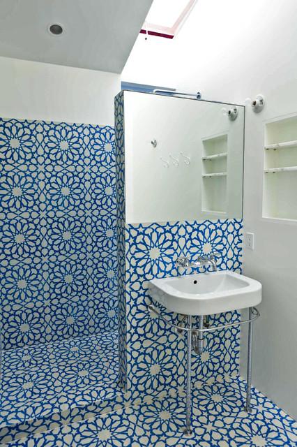Eclectic Bathroom by Melanie Stephens