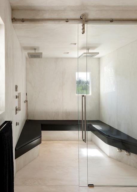 Hope ranch contemporary contemporary bathroom santa for Modern ranch bathroom