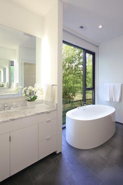 Hope Valley House Modern Bathroom Raleigh By Szostak Design Inc