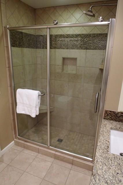 Hotel Inspired Bath Remodel traditional-bathroom