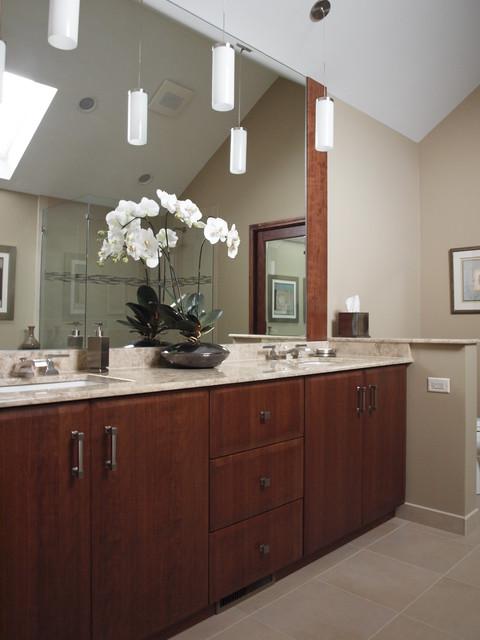 Hotel Inspired Bathroom contemporary-bathroom