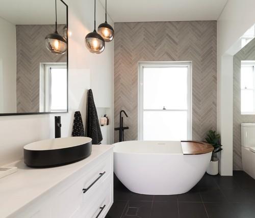 modern bathroom renovation luxury