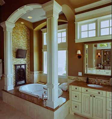 House beautiful traditional bathroom milwaukee by for Beautiful houses interior bathrooms