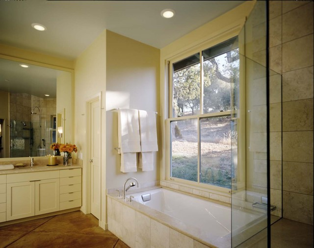 House in Santa Lucia Preserve contemporary bathroom