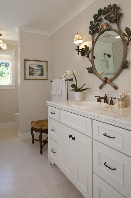 House In Sonoma Traditional Bathroom San Francisco By Julie Williams Design