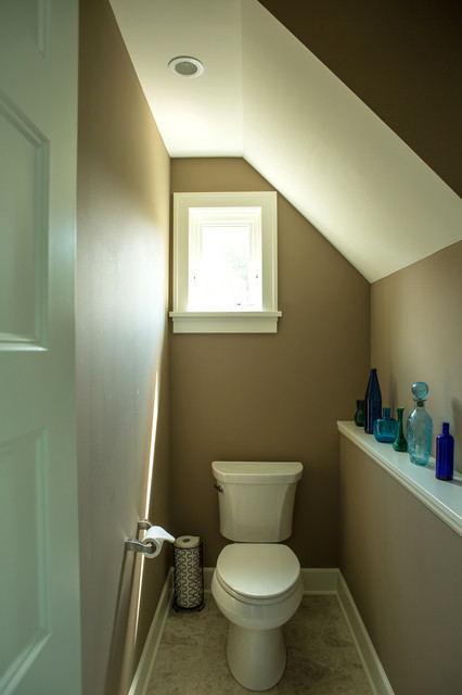 House Of Turquoise Water Closet Traditional Bathroom