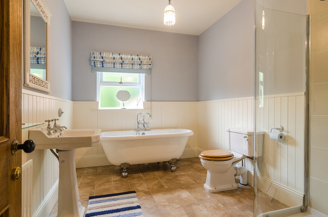 House on belfast road traditional bathroom northern for Bathroom ideas belfast