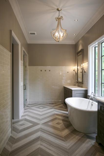 House On Stovall Contemporary Bathroom Atlanta By