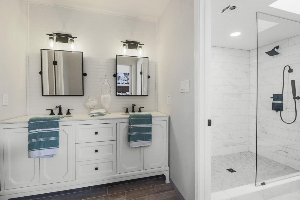 House Remodeling In Phoenix Transitional Bathroom Phoenix By Atelier507