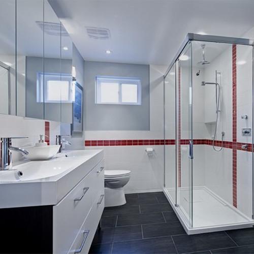 House renovation town of mount royal qu bec for Bathroom furniture quebec