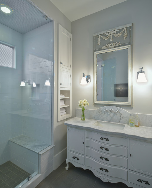 Houston heights house traditional bathroom houston for Bathroom ideas houston