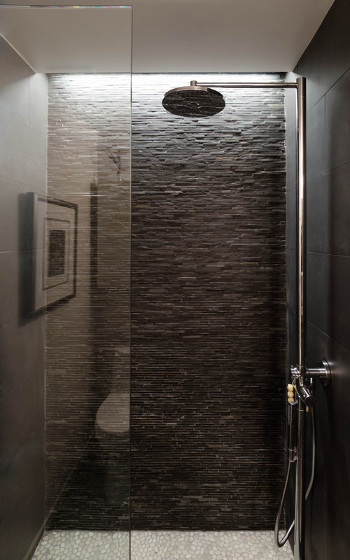 How are you lighting the shower recessed lighting skylight - Muur niche ...