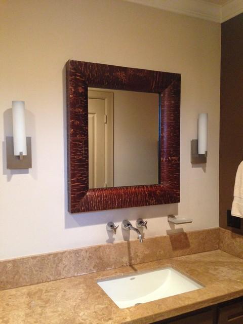 Houston New Contsruction transitional-bathroom
