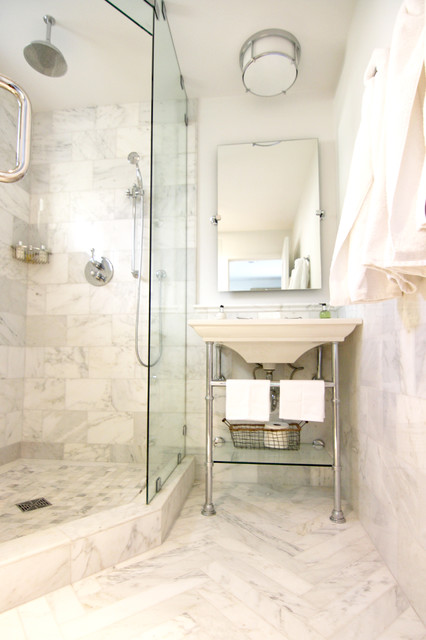 Houzz Featured Projects Transitional Bathroom San