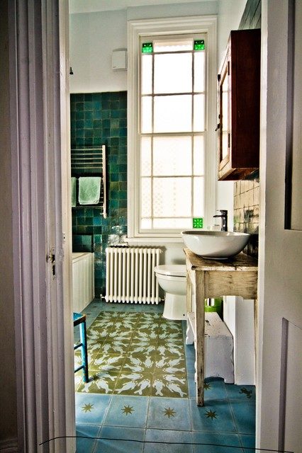 Hove Master Ensuite Eclectic Bathroom South East By The Brighton Bathroom Company
