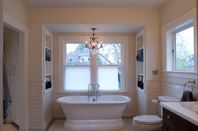 How to update old world charm traditional bathroom seattle by thomas jacobson - Change your old bathroom to traditional bathrooms ...