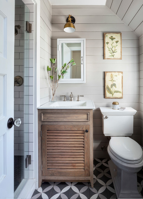 Hudson Bay Farmhouse Bathroom Denver By Inside