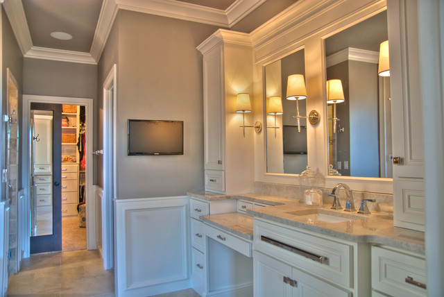 Hull House Transitional Bathroom Oklahoma City By Jaggers Home Design