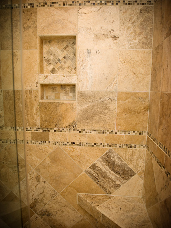 Tile shower replacement home design ideas pictures for Christine huve interior designs