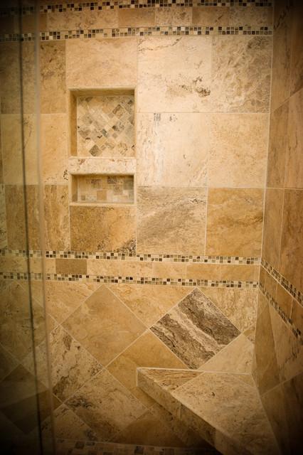 Huneycutt Shower modern-bathroom