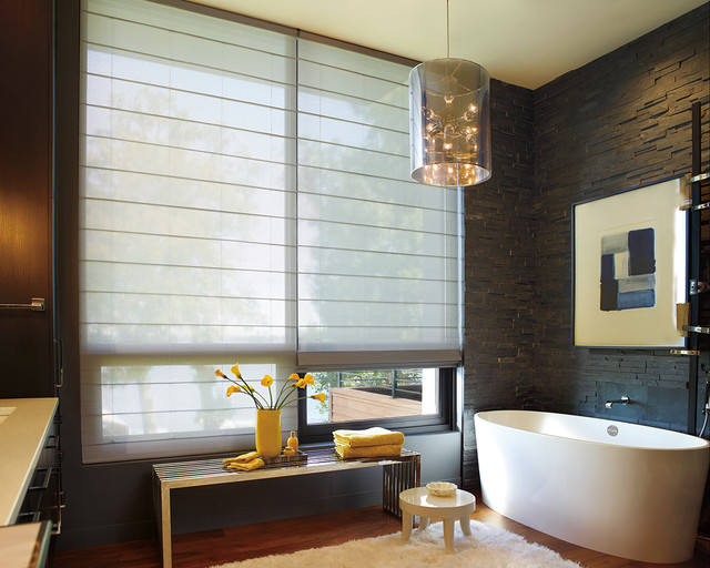 Hunter Douglas Alustra Woven Textures Roller Shades And