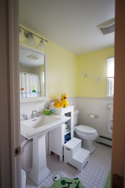 Huntington Bay traditional bathroom
