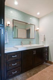 Huntington Beach 2nd Bathroom Contemporary Bathroom