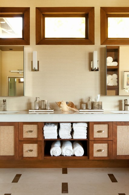 Huntington Beach contemporary bathroom