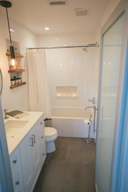 Huntington Beach Contemporary Bathroom Orange County
