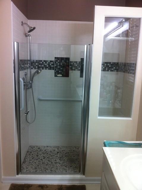 Huntley Del Webb ADA Shower Conversion traditional-bathroom