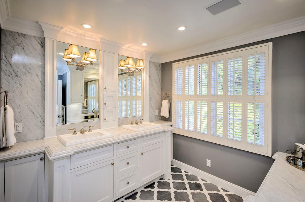 浴室美式风格效果图大全2017图片_土拨鼠浪漫格调浴室美式风格装修设计效果图欣赏