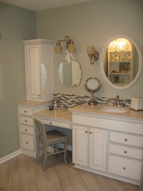 huxman master vanity traditional bathroom