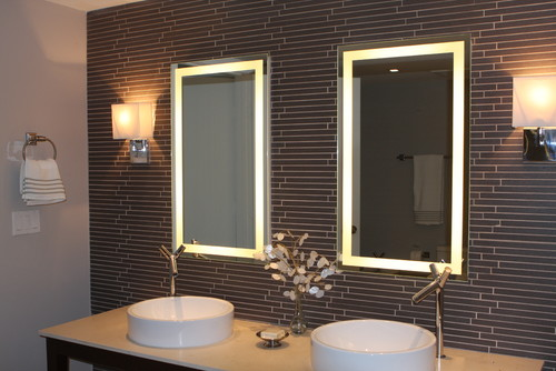 Bathroom Mirrors With Lights Built In 10 types of bathroom mirrors