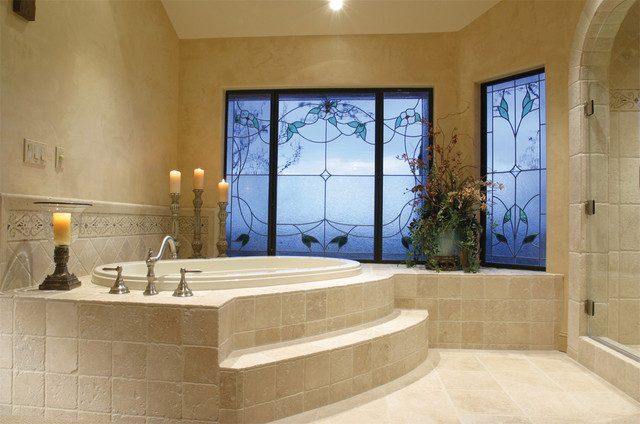 Chick Residence mediterranean bathroom