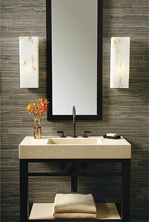 Idyllwild tile bathroom by ann sacks for Houzz com bathroom tile