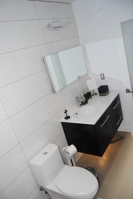 Iman s bachelor crib contemporary bathroom other for Bachelor bathroom ideas