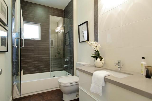 Imperial Tile Stone Anaheim Modern Bathroom Los