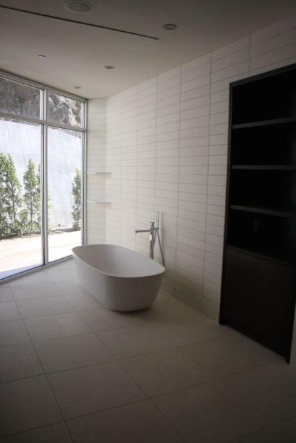 Imperial Tile Stone Contemporary Bathroom Los