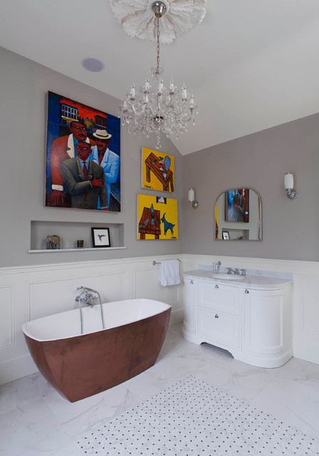 Impressive south belfast residence eclectic bathroom for Bathroom ideas belfast