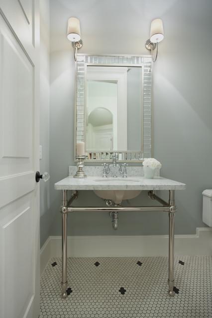 In 1017 traditional bathroom houston by wyrick for Bathroom designs houston