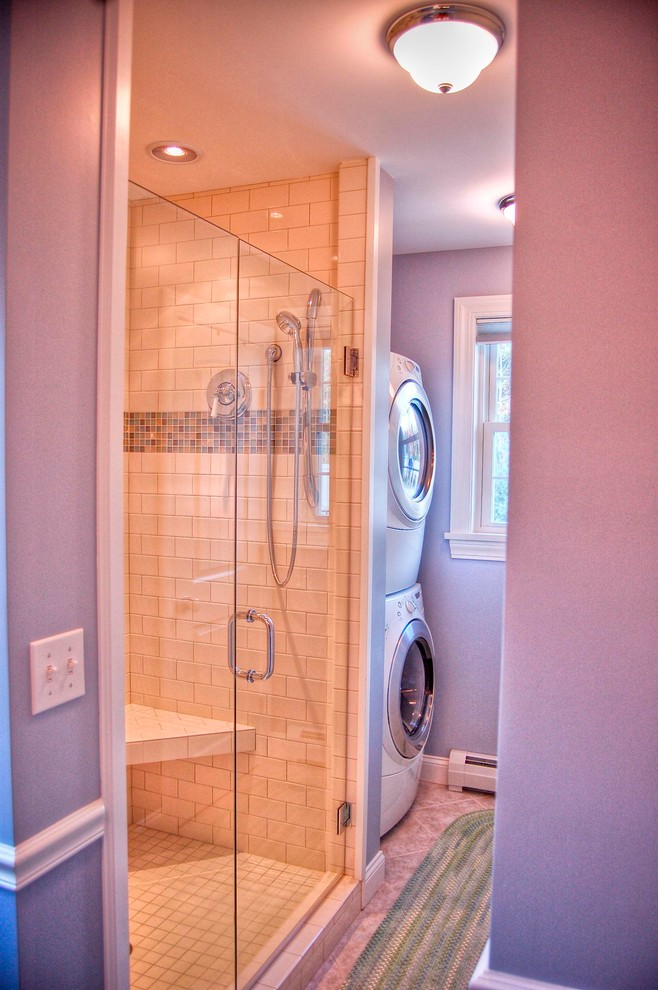 Example of a classic bathroom design in Portland Maine